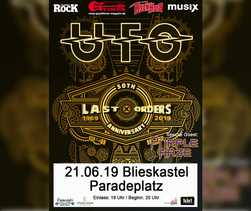 1. music nights Blieskastel - UFO