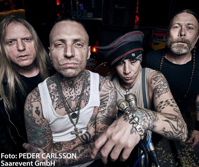BACKYARD BABIES + THE BONES & AUDREY HORNE