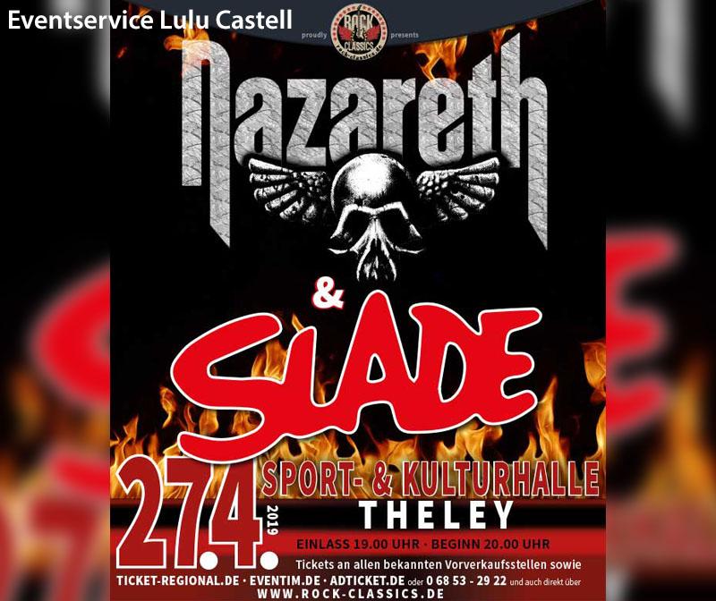 NAZARETH & SLADE - ROCK CLASSICS 2019