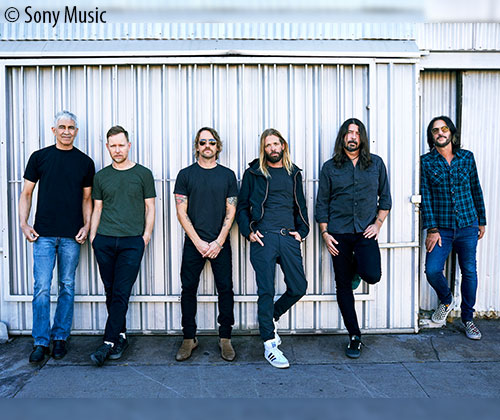 Foo Fighters<br>Neues Album: Medicine at Midnight