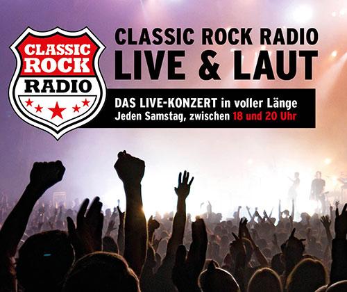 CLASSIC ROCK RADIO LIVE & LAUT